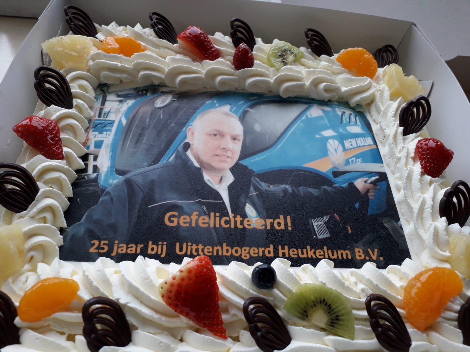 Arie Molendijk 25 jaar in dienst