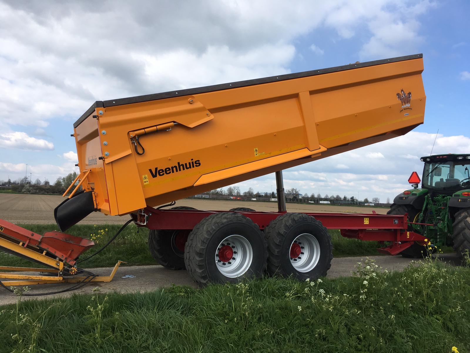 Veenhuis JVK19000 afgeleverd aan de Muggenwaard