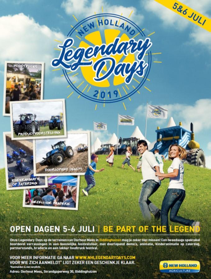 New Holland Legendaydays 5 & 6 juli 2019