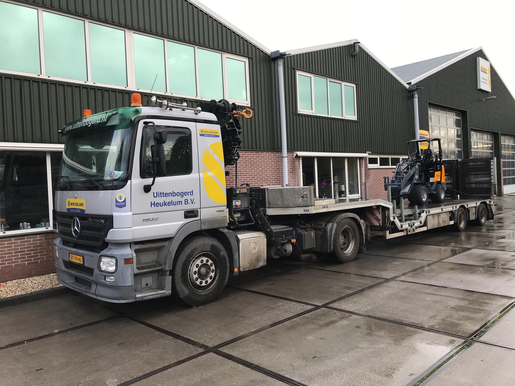 Nieuw Giant D263SW afgeleverd