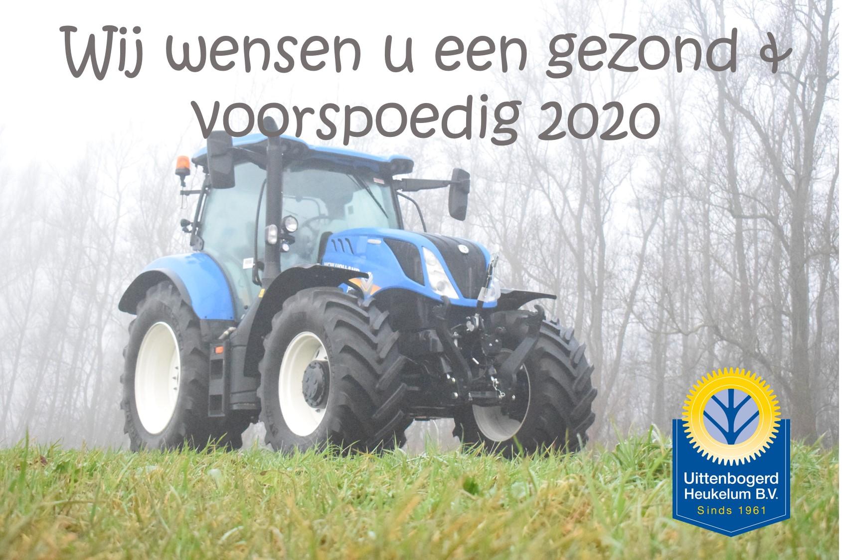 Wij wensen u een gezond & voorspoedig 2020
